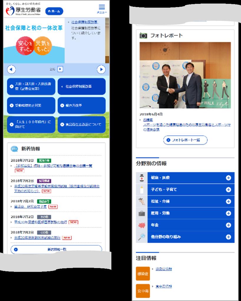 労働省 ホームページ 厚生