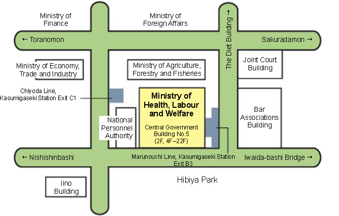 Ministry of Health, Labour and Welfare: Guide Chart