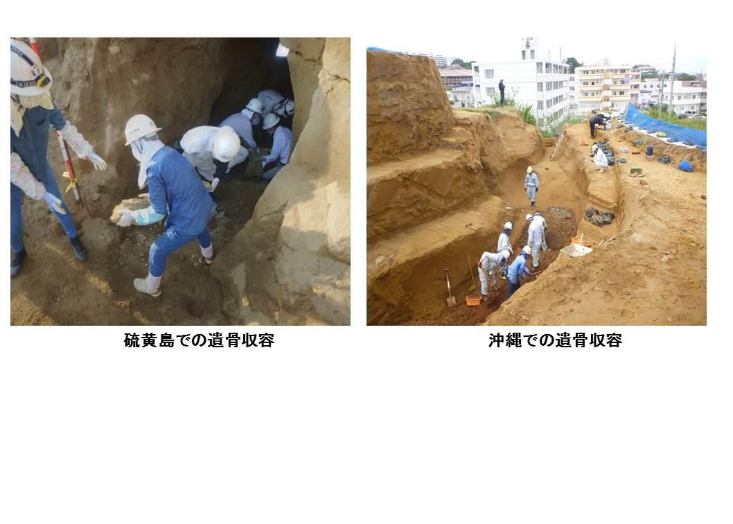 遺骨収集の実施